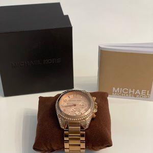 Michael Kors watch -Rose Gold